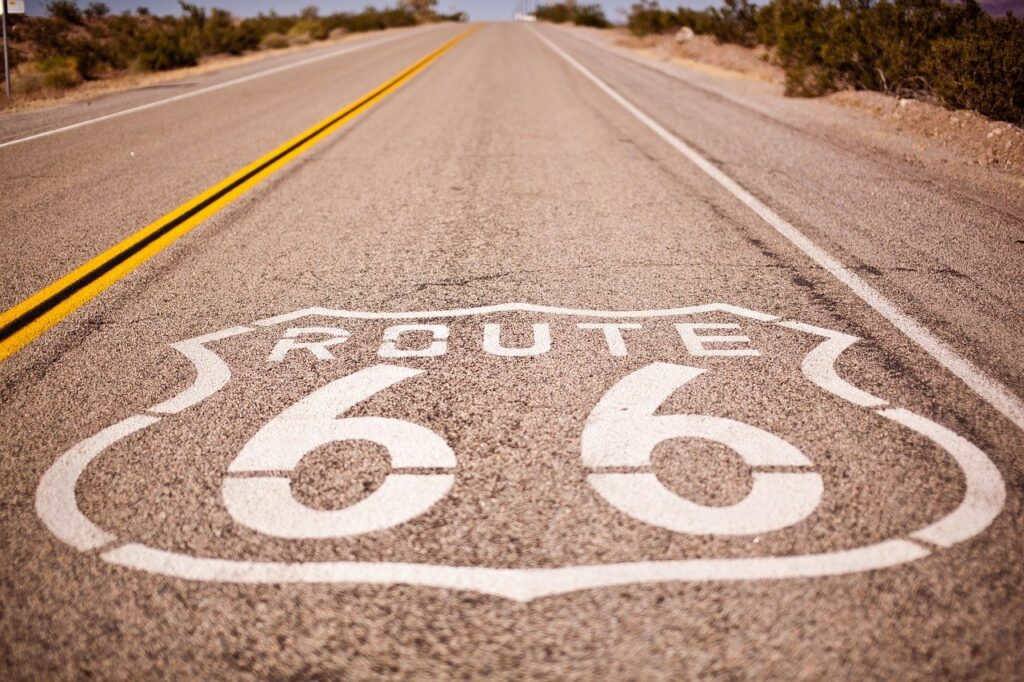 route 66, usa, vacations